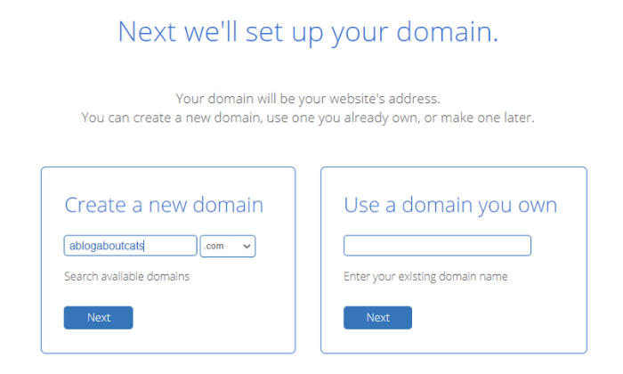How To Start A Blog In 2021 -Bluehost Domain Setup